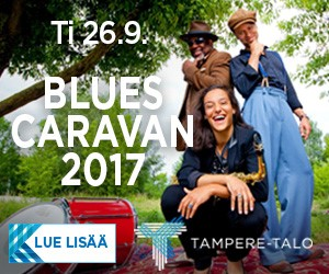 blues caravan, tampere-talo 2017